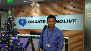 During Session Colgate Palmolive at Mumbai.