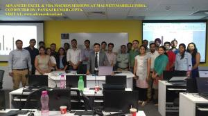 Session At Magneti Marelli.